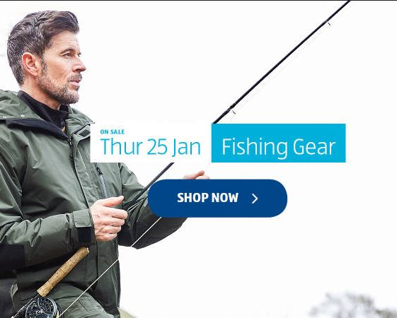 Aldi Special Buys Thursday 25th January 2018. Fishing Gear - http://www.olcatalogue.co.uk/aldi/aldi-special-buys.html