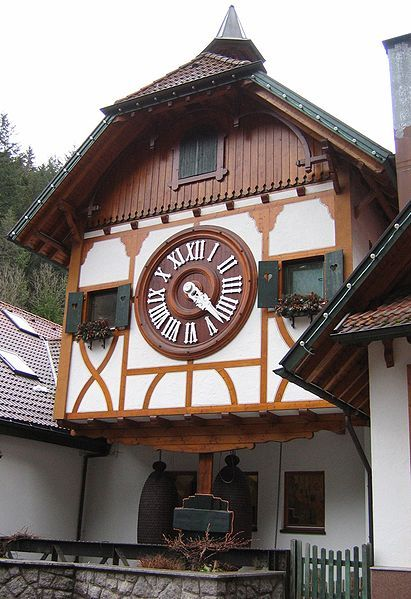 Triberg, Germany [Black Forest - home of the cuckoo clocks - shown is largest Cuckoo Clock in the World]
