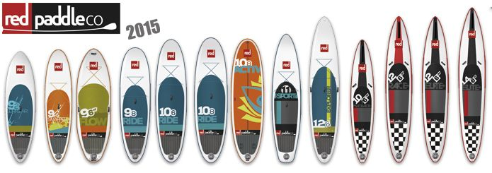 Red Paddle Co. Line Up at Urban L&L
