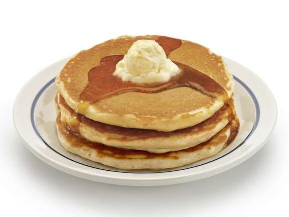 It is National Pancake Day, so IHOP restaurants are giving away free pancakes to celebrate.