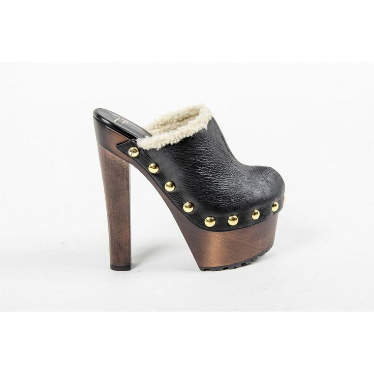 Giuseppe Zanotti Women's Mule Platform Open Toe Sandals #GiuseppeZanotti #OpenToe #Clubwear