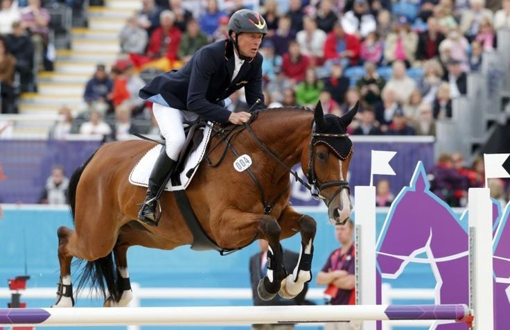 Peter Thomsen et l'équipe d'Allemagne ont été sacrés champions olympiques du concours complet