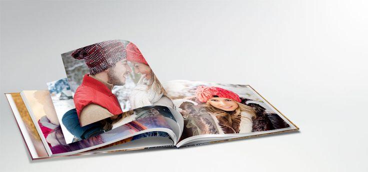 Ontwerp uw persoonlijke fotoboek