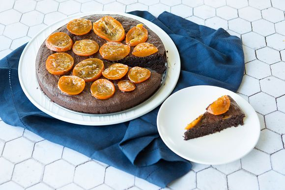 Orange Seville Flourless Chocolate Cake - Maggie Beer