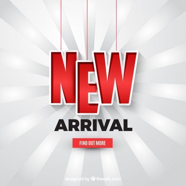 Modern New Arrival Composition With Realistic Design Vector Illustration Freepik Cartoons Vector