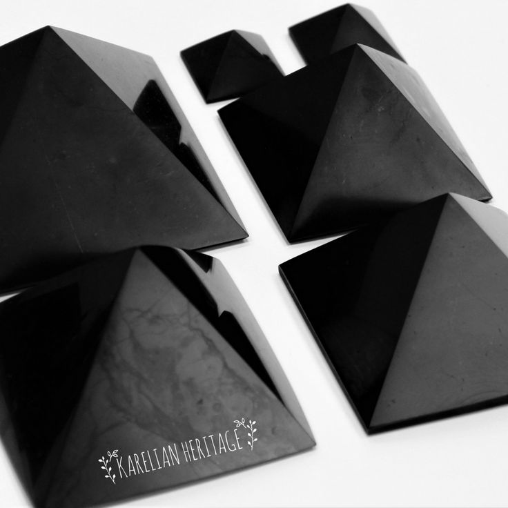 Shungite pyramids are the most POPULAR shungite items! 🔝 Apart from being effective means against EMR and geopathic zones, shungite pyramids provide you with PROTECTION by supplying you with positive energy and protecting you from harmful influences 🌟 Various pyramids, polished and non-polished, different shapes and sizes! ✨ Follow the link to find your PERFECT PYRAMID from $3.49! 🙌 #crystalmagic #pyramidpower #KarelianHeritage #KarelianShungite