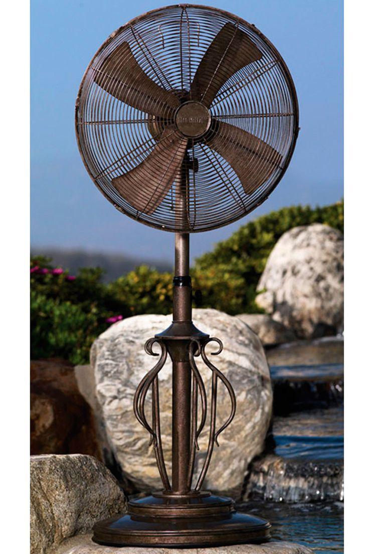 Big Outdoor Fans Part - 38: DecoBreeze Capri Outdoor Fan Is Decorative - Fan - Warrantee