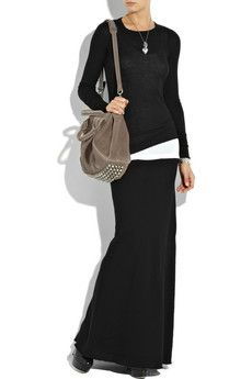I have a long skirt like this that I haven't worn in a long time; I may atte…