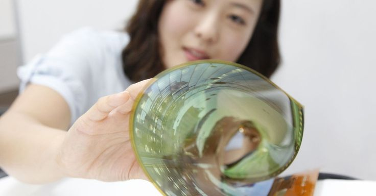 LG Display unveiled a new kind of screen that is ultra-thin and rolls up, and the company expects to put the tech into TVs by 2017.