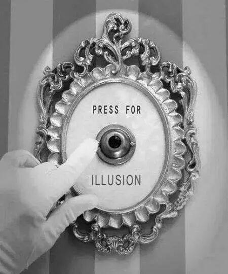 #illusion #humor #button