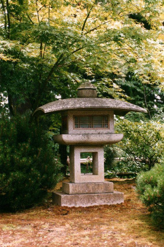 3093 best images about japanese garden 39 s etc on pinterest for Japanese landscape lanterns