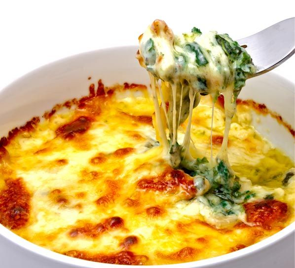 Σουφλέ+με+σπανάκι+και+κρέμα+τυριού