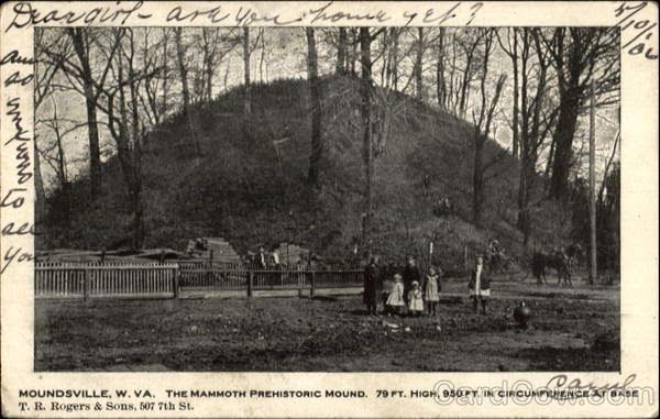 The Adena Hopewell Mound Builders The Giant Adena Queen