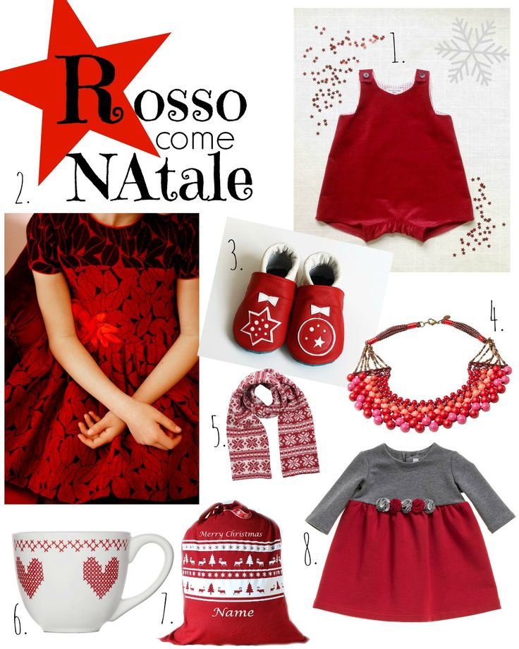 Red Christmas by ma come lo vesto