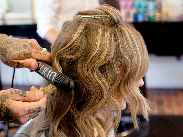 Must-Do Mondays: Celebs Love This Modern Day Update on Crimped Hair for a Lived-In Look   E! Online Mobile