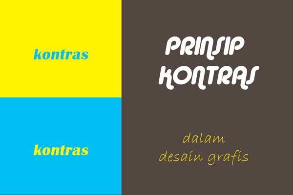 7 Prinsip Desain Serta Contoh Dan Penggunaanya Desain Grafis Desain Grafis