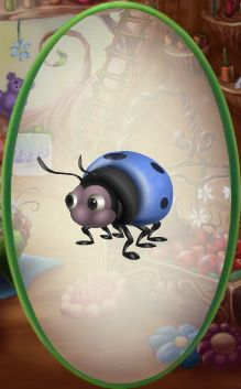 Blue Ladybug | Forget-Me-Not Blue Ladybug - Disneys Online Worlds Guide (Wiki)