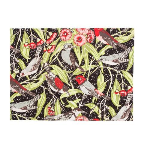 Flowering Gum Placemat - Black