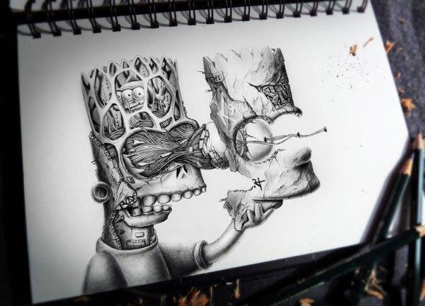 Bart Simpson - Morto-Vivo / Zumbi