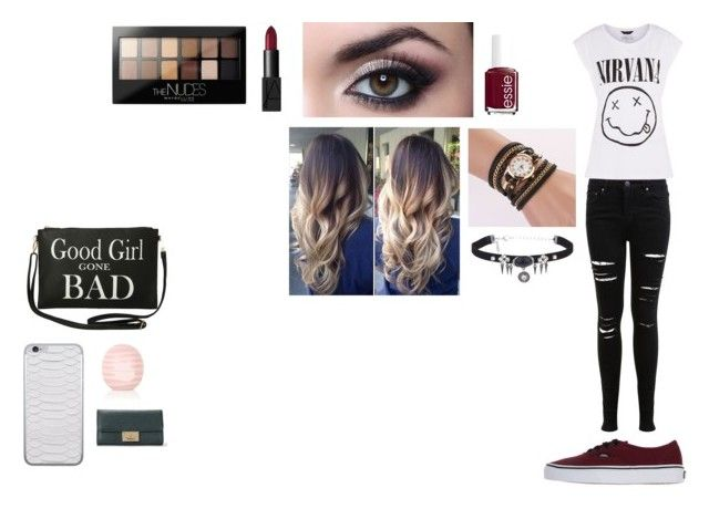 """Shopping Day"" by camillaknudsen on Polyvore featuring Miss Selfridge, Vans, Maybelline, NARS Cosmetics, Essie, Torrid and Topshop"