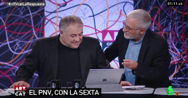Sardà se la lía en directo a Ferreras en 'Al Rojo Vivo'
