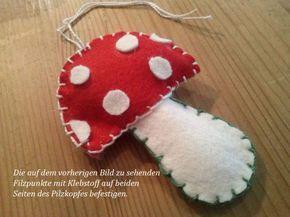 Heute zeige ich einen Fliegenpilz aus Filz und gleich auch noch einen Dekorationsvorschlag dazu. Die Vorlage zum Ausdrucken und Nachmachen für den Pilz und weitere Fotos gibt es hier. Für die Dekoration braucht man noch ein paar trockene mittelgroße Äste, … weiterlesen
