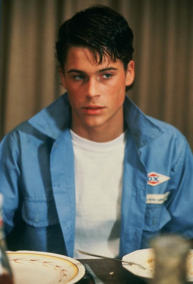 Rob Lowe in The Outsiders, Sodapop | Casting Call | Pinterest