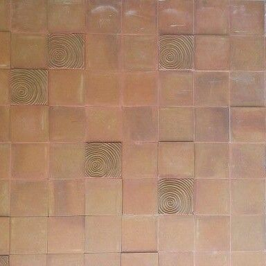 Wall deco with terracotta by www.baliclay.com