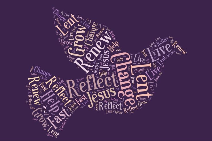 Lent - Using Tagxedo to create pictures and words to represent Lent. http://4-5classnews.blogspot.com.au/p/religion.html