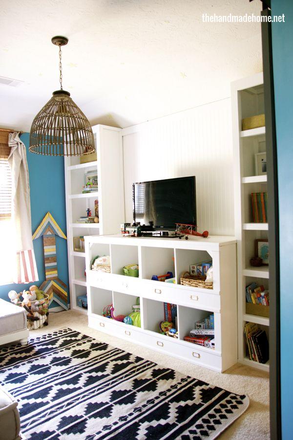 Handmade Home Playroom