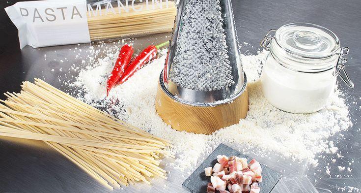 Spaghetti Carbonara - Alfredos Interpretation des italienischen Klassikers. Ein Gedicht!