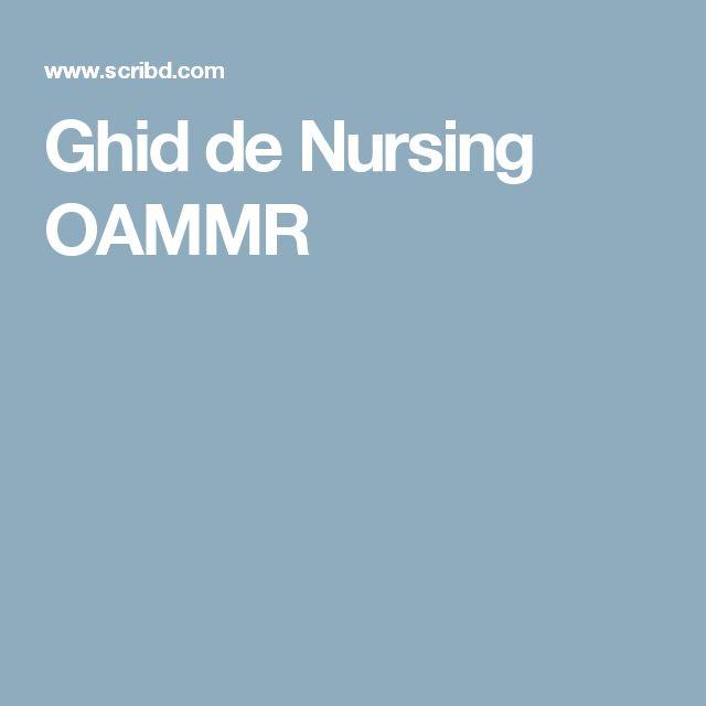 Ghid de Nursing OAMMR