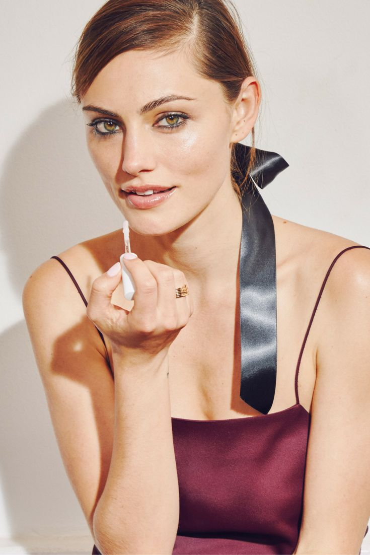 Phoebe Tonkin wears the limited edition Black Tie Set