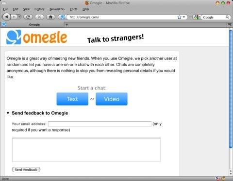 videochat strangers