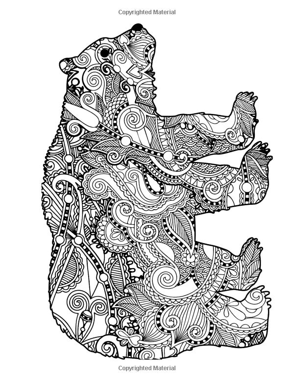 92 Intricate Coloring Pages Animals