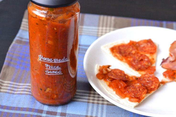 Házi pizzaszósz recept