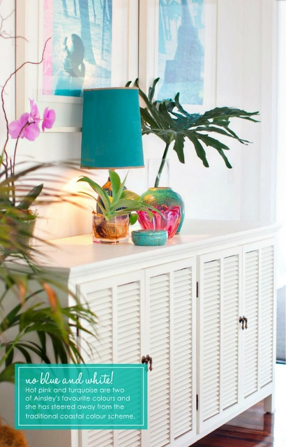 Shorely Chic: Bright on the Beach: Islands Style, Shutters Doors, The Doors, Beaches House, Bright Color, Happy Color, Beaches Style, Beaches Cottages, Beaches Fabulous