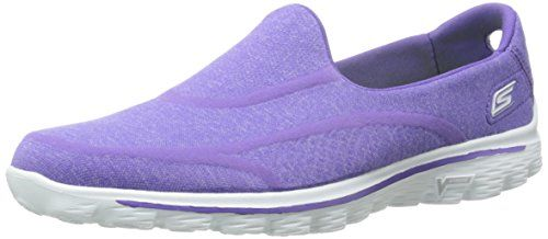 Skechers GO Walk 2 Super Sock Damen Walkingschuhe, Violett (PUR), 38 EU - http://on-line-kaufen.de/skechers/38-eu-skechers-go-walk-2-super-sock-damen-11