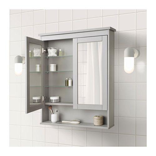 Ikea spiegelschrank hemnes  Die besten 25+ Badezimmer spiegelschrank ikea Ideen auf Pinterest