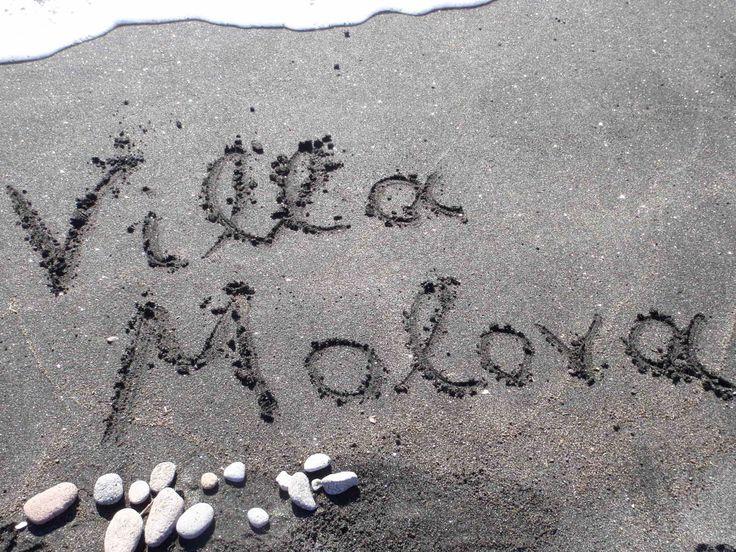 Love the Beach Think of the Beach Keep clean the Beach www.villamolova.com #Villa #Molova #Molyvos, #Μήθυμνα, #Lesvos, #Greece