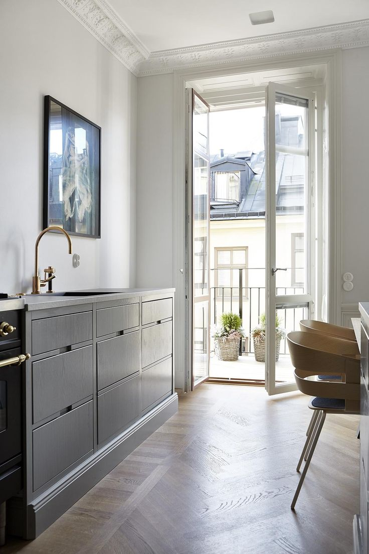 Kitchen. Scandinavian luxury apartment. Tulegatan 25 | Fantastic Frank