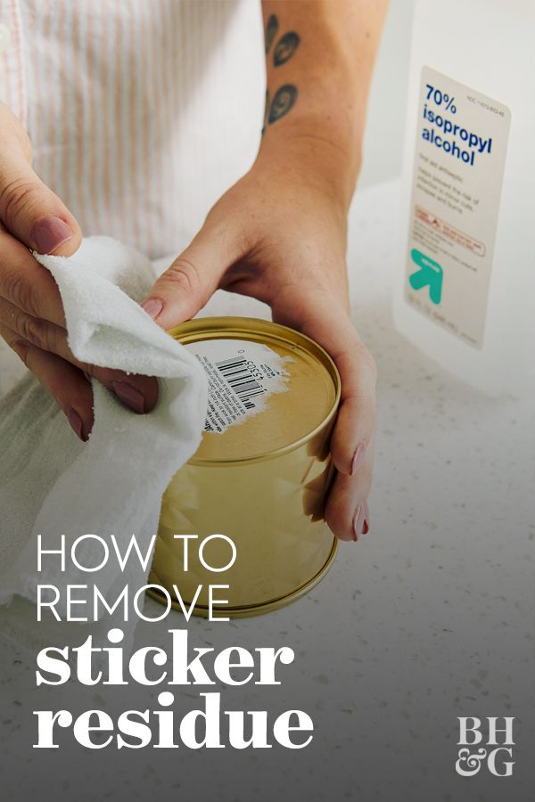 How To Remove Sticker Residue From Any Surface Remove Sticker Residue Sticker Removal Get Stickers Off