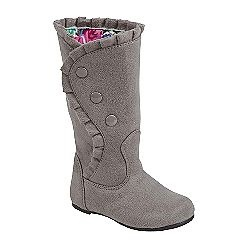 Saw these adorable little girl's boots at Kmart today.  LOVE THEM!!!  They are on sale for $ 16.99 - but I am being too cheap hoping they will go on sale for less in another week or so.