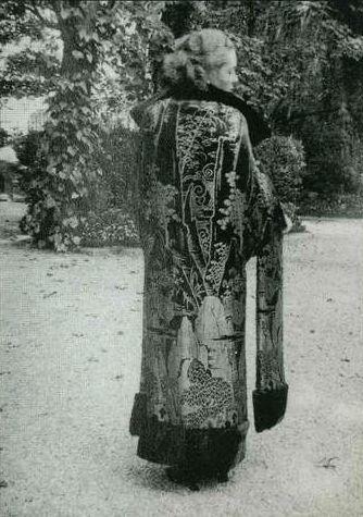 Манто «Микадо». Поль Пуаре, 1923.