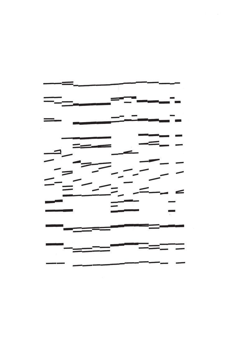 John Wiese—Battery Instruments (Typographic score, 2009)