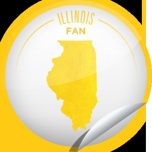 Illinois Fan - Long an important industrial and agricultural contributor to the nation, Illinois has been a state since 1818. Keep checking-in to the Prairie State to become a Superfan.