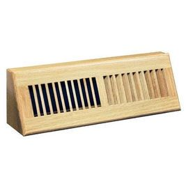 "Truaire C168-OBF 18 Baseboard Diffuser, 18"", Oak 