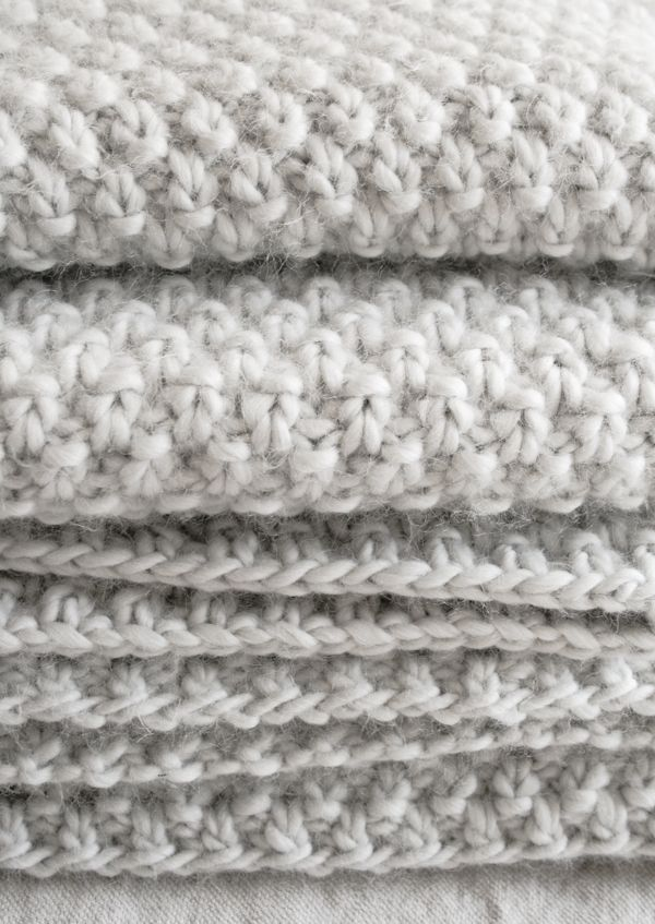 Double Seed StitchBlanket - The Purl Bee - Free Pattern!
