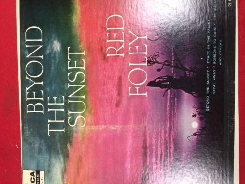 Red Foley Beyond The Sunset Gospel LP Album