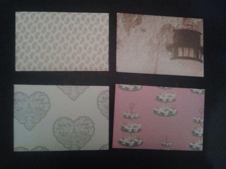 Four envelopes